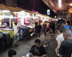 タニヤの近くにあるバッポン通り!お土産買いに来た日本人がヤバい@