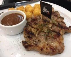 バンコク!安い!ステーキ!SANTA FEで美味い肉を食す**