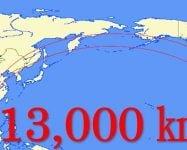 13000kmも離れた国から、タイタニヤAGEHAをロックオン!