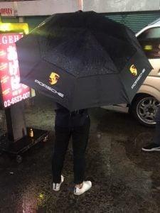 傘 ポルシェ
